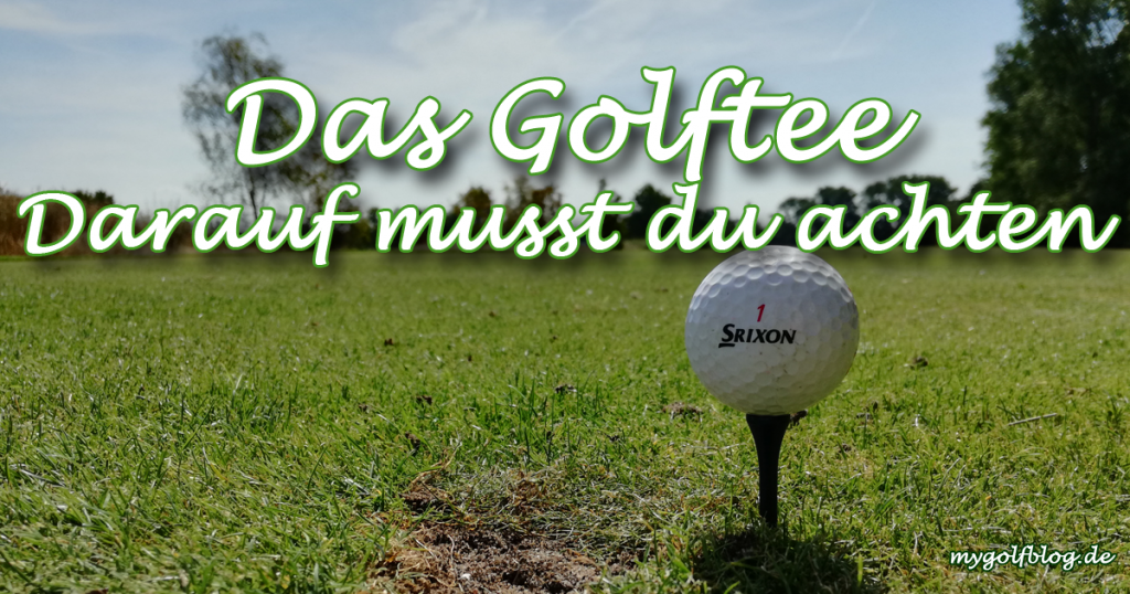 golftee regeln