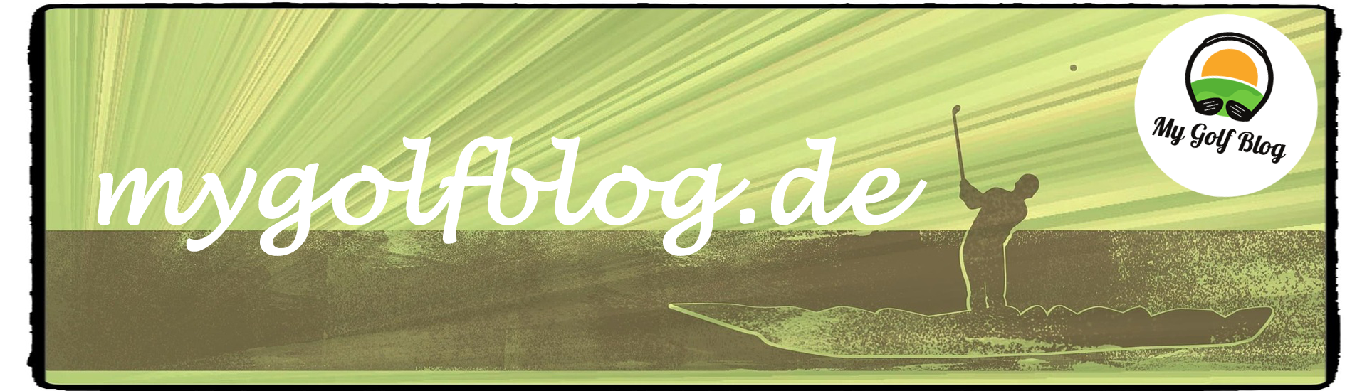 my gollf blog header